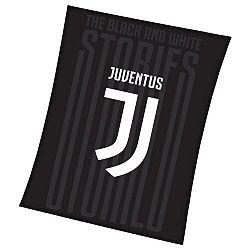 TipTrade Deka Juventus černá, 150 x 200 cm