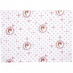 Trade Concept Prostírání Elegant puntík červená, 33 x 45 cm