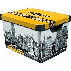 Úložný box dekorativní L NEW YORK, Curver