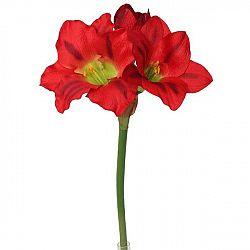 Umělá Amarylis červená, 52 cm