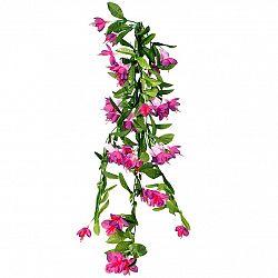 Umělá Fuchsie fialová, 60 cm