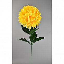 Umělá květina Chrysantéma 50 cm, žlutá