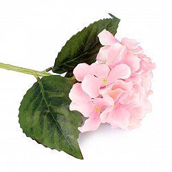 Umělá květina hortenzie růžová, EW203