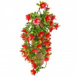Umělá květina Ibišek červená, 40 cm