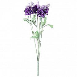 Umělá květina Levandule fialová, 34 cm