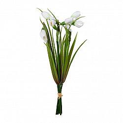 Umělá květina svazek sněženek, 30 cm