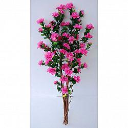 Umělá kvetoucí Azalka v květináči tmavě růžová, 120 cm