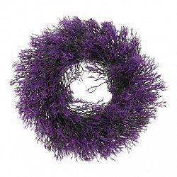 Umělý věnec Tráva fialová, pr. 30 cm