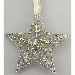 Vánoční hvězda Hesperia zlatá, 15 cm