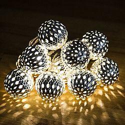 Vánoční řetěz koule LED, 4Home