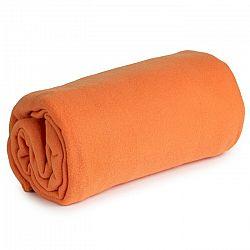 VETRO-PLUS Fleecová deka Sweety Calme oranžová, 130 x 170 cm
