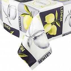 VOG Ubrus vinylový Citron 140x160 cm