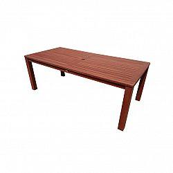 Zahradní stůl Aus 210 x 100 x 76 cm, keruing