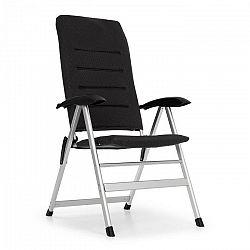 Blumfeldt Almagro, zahradní židle, hliníkové, pěnová podložka, černé