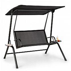 Blumfeldt Bel Air Mono, hollywoodská houpačka, ocelový rám, mono relax, černá