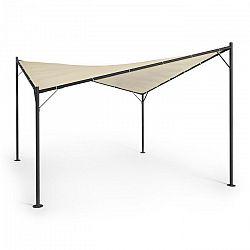 Blumfeldt Sombra, pergola, kompletní sada, 4x4m, polyesterová střecha, béžová