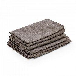 Blumfeldt Theia, potahy na čalounění, 8 dílů, 100 % polyester, nepromokavé, hnědé
