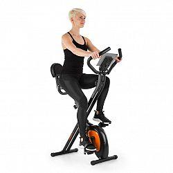 Capital Sports Azura Air, domácí cyklotrenažér, ergometr, měření tepu, sklopný, černo/oranžový