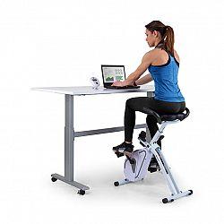 Capital Sports Azura Desk Bike, domácí trenažér, 7,5kg setrvačník, řemenový pohon