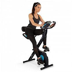 Capital Sports Azura M3 Pro, domácí trenažér, flexibilní táhla, řemenový pohon, černý