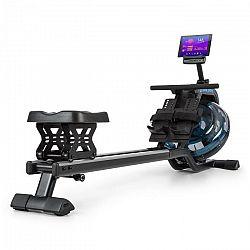 Capital Sports Flow M2, veslovací trenažér, 80 cm, možnost postavení, LCD displej, ocel, černý