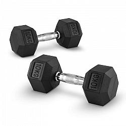 Capital Sports Hexbell 10 kg, dvojice jednoruční činek (Dumbbell)