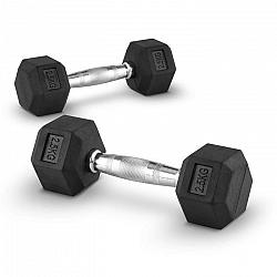 Capital Sports Hexbell 2,5, jednoruční činka, 2,5 kg, pár