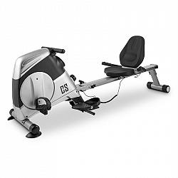 Capital Sports Rowbi 3 in 1, stříbrný, ergometr-veslařský trenažér-kladka
