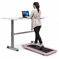 Capital Sports Workspace Go, běžecký pás, 350 W, 0,8-6 km/h, 11 cm výška, růžovozlatá