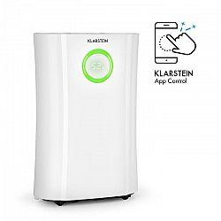 DryFy Pro Connect, odvlhčovač vzduchu Klarstein, WiFi, komprese, 20l/d, 20m², 370 W, bílý