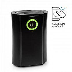 DryFy Pro Connect, odvlhčovač vzduchu Klarstein, WiFi, komprese, 20l/d, 20m², 370 W, černý