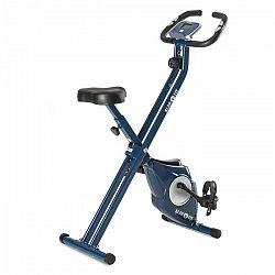 KLARFIT Azura X-Bike, kolo na domácí trénink, do 100 kg, měřič tepu, sklápěcí, 3 kg, modrý