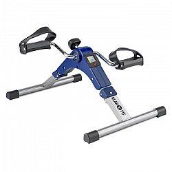 KLARFIT Continus Pro Mini Bike, pedálový přístroj na cvičení, displej, sklápěcí, modrá barva