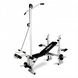 KLARFIT HB2RT, tréninková lavice, latissimus, posilování