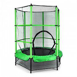 KLARFIT Rocketkid, zelená, 140 cm, trampolína