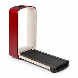 KLARFIT Runtasy SE, běžecký pás, domácí trenažér, LED displej, bluetooth, sklopný, červený