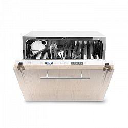 Klarstein Amazonia 6 Secret, vestavná myčka nádobí, 6 programů, bílá