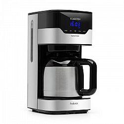 Klarstein Arabica 800W, kávovar, 1.2 l, Easy-touch control, stříbrno/černý