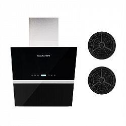 Klarstein Aurea VII, odsavač par, set filtrů s aktivním uhlím, 60 cm, černá barva