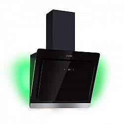 Klarstein Aurora Eco 60, digestoř, 550 m³/h, LED displej, černá
