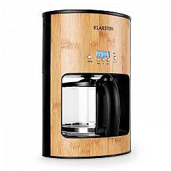 Klarstein Bamboo Garden kávovar,1080 W,1,25 l,časovač,bambus