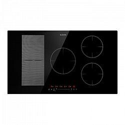 Klarstein Delicatessa 90 Hybrid, indukční varná deska, 5 zón, 7000 W, černá