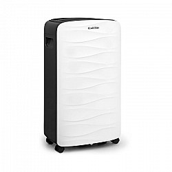 Klarstein DryFy 16, odvlhčovač vzduchu, komprese, 16 l/24 h, časovač, 255 W, bílý/šedý
