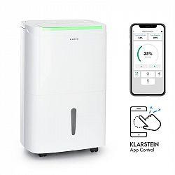 Klarstein DryFy Connect 40, odvlhčovač vzduchu, WiFi, komprese, 750 W, 40l/d, 35-45m², bílý