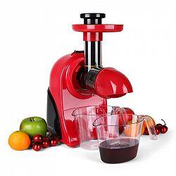 Klarstein Fruitpresso Rosso, odšťavňovač, lis na vytlačování