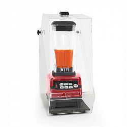 Klarstein Herakles 5G, stolní mixér s krytem, 1500 W, 2,0 PS, 2 litry, bez obsahu BPA, červený