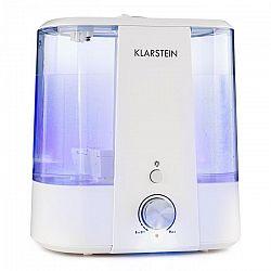 Klarstein Toledo, ultrazvukový zvlhčovač vzduchu, aroma difuzér, 6 l, LED světlo, bílý