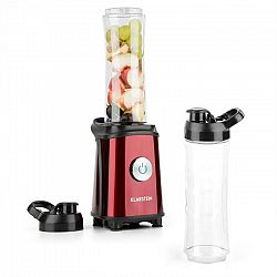 Klarstein Tuttifrutti, červený, mini mixér, 350 W, 800 ml, křížové čepele, bez BPA
