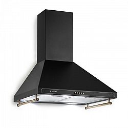 Klarstein Victoria, digestoř, retro design, 600m³ / h, 2 LED lampy, černá barva