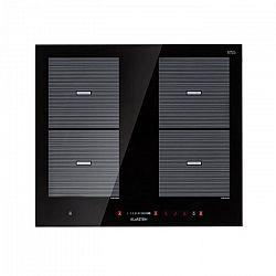 Klarstein Virtuosa Flex 60, indukční varná deska, 4 zóny, 7200 W, ceran, vestavěná, černá